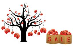 Discount tree Stock Images