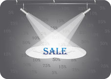 Free Discount Under Searchlights Stock Photos - 31833513