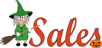 Discount witch Stock Images