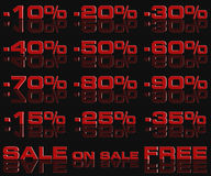 Discounts 06. Discounts to sale cheaper good offer vector illustration
