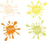 Discounts Royalty Free Stock Photography