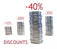 Discounts, Royalty Free Stock Photos