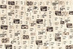 DISCOUNTS background Royalty Free Stock Images