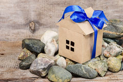 Discounts and bonuses for real estate as a gift Royalty Free Stock Image