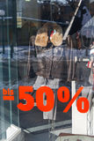 Discounts in percent Stock Photo