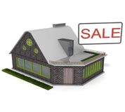 Discounts on real estate Stock Photography