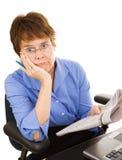 Discouraging Job Hunt Royalty Free Stock Image