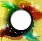 Discours color? de vecteur abstrait Photo libre de droits
