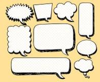 Discours comique de bulle Image stock
