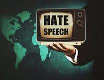Discours de haine politique photo libre de droits