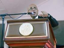 Discours présidentiel du Haïti Photo stock
