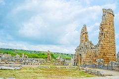 Discover ancient Perge Stock Photography