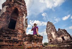 Discover of Ancient Thailand Stock Images