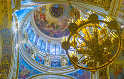 Discover the great dome of St Isaac's Cathedral Royalty Free Stock Photography