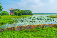 Discover Kaduhiti lake Royalty Free Stock Photography