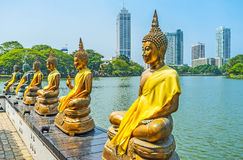 Discover landmarks of Colombo royalty free stock photography