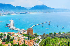 Discover old Alanya Stock Images