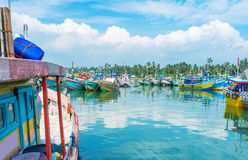 Discover the old harbor Royalty Free Stock Photography