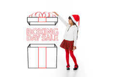 Discover our christmas discounts Stock Images