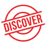 Discover rubber stamp Stock Photo