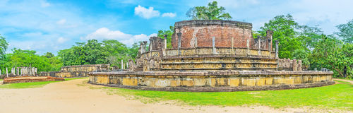 Discover the sacred city Stock Images