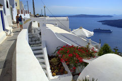 Discover Santorini Royalty Free Stock Photo