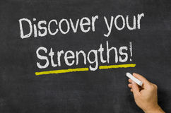 Discover your Strengths Stock Photography
