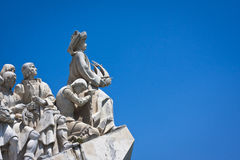 Discoveries. Monument to the Discoveries, Lisboa Royalty Free Stock Photo