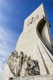 Discoveries monument. Monument to the Discoveries in wide angle, Lisbon - Portugal Royalty Free Stock Photos