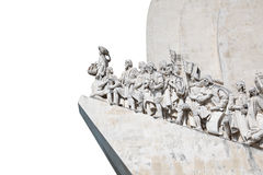 Discoveries Monument in Lisbon Royalty Free Stock Photography