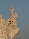 Discoveries monument Lisbon Royalty Free Stock Photo