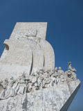 Discoveries Monument in Lisbon, Portugal Stock Photos