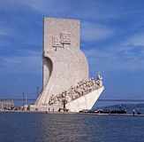 Discoveries Monument, Lisbon. Stock Image