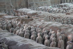 Discovering China: The Terracotta Army Stock Images