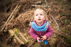 Discovering the mysteries of nature Royalty Free Stock Images