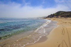 Discovery Apulia seascape: Nature Reserve of Torre Guaceto Brindisi,Italy. Royalty Free Stock Image