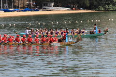 Discovery Bay dragon boat race 2014 Stock Photo