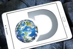 Discovery channel logo Stock Photography