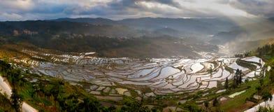 Discovery at Honghe Yunnan, China 2013. Discovery at Honghe Yunnan, China light of god Royalty Free Stock Image