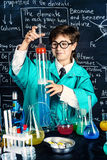 Discovery in the laboratory Stock Photo