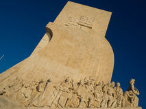 Discovery Monument at Belem, Lisbon, Portugal Stock Photos
