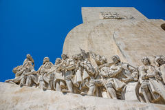 Discovery monument in Lisbon, Portugal. Stock Photo