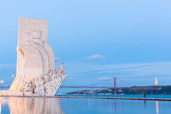 Discovery Monument Lisbon Stock Image