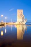 Discovery Monument Lisbon Stock Photos