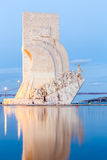 Discovery Monument Lisbon Royalty Free Stock Image