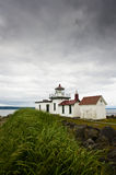 Discovery Park Lighthouse. Stock Photo