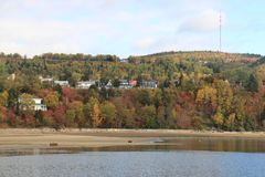 Discovery Quebec Landscapes in Autumn Stock Photos