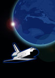 Discovery shuttle Stock Photo