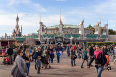 Discoveryland attraction Stock Images