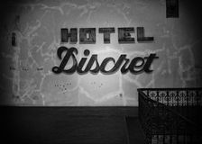 Discreet hotel Royalty Free Stock Photography